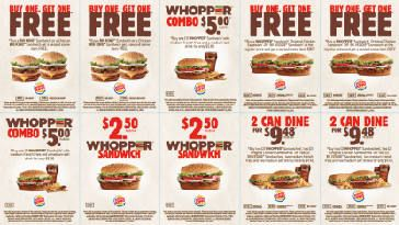 Burger King Canada Coupons, Specials & Deals 2018 on http://www.canadafreebies.ca/
