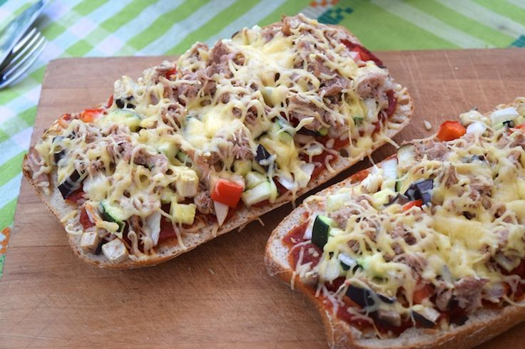 Supersimpel pizzabrood