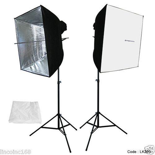 "24"" x 24"" Photography Photo Equipment Soft Studio Light Tent Box Kits"