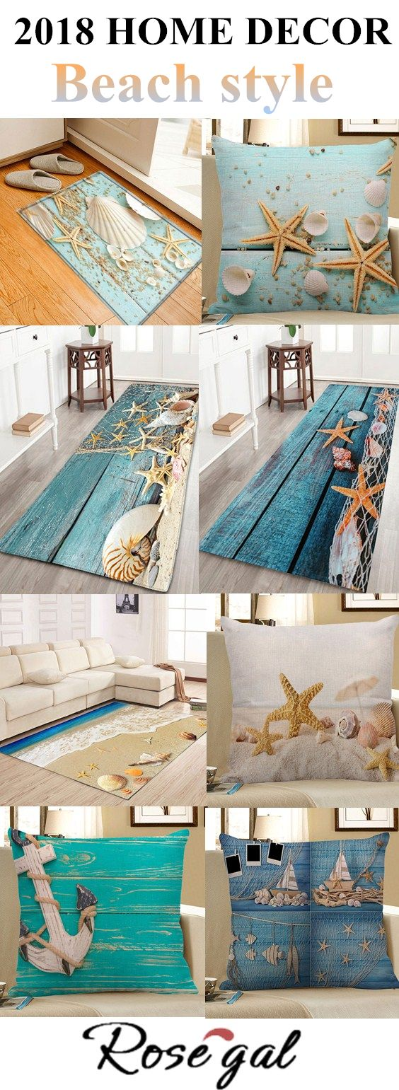 2018 Home Decor Beach Style.Free Shipping Worldwide.For bedroom,bathroom,living room.