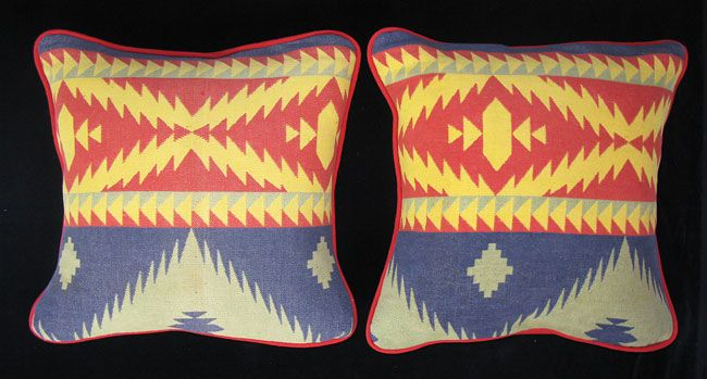 Beacon Blanket Pillows Camp Trade Blankets And Navajo