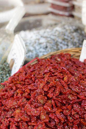 Dried tomatoes, Sicily, Italy. Art, food, traditions and history by Luca Serradura.  www.lucaserradura.com