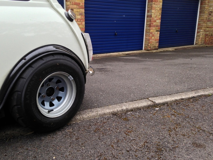 Slammed classic mini