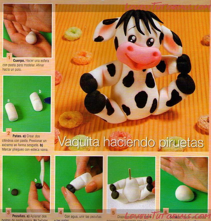 How to make a COW Tutorial - So cute!
