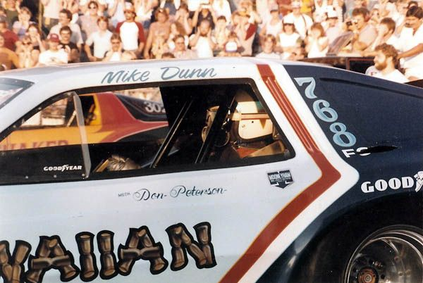 It's Mike Dunn in the Hawaiian Funny Car.