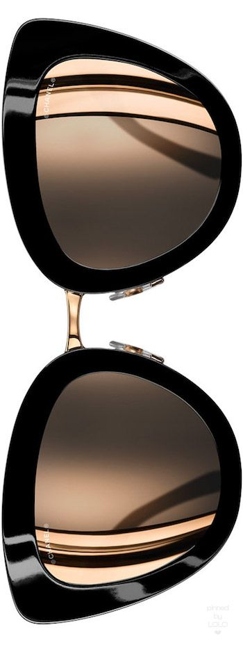 Chanel Cat Eye Quilting Sunglasses #Unique_Womens_Fashion