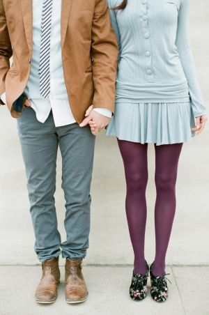 Baby Blue and Plum Fashion   photography by thismodernromance...
