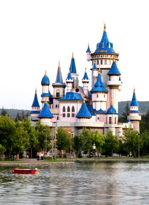 sazova castle, eskişehir,Turkey  CLICK THE PIC and Learn how you can EARN MONEY while still having fun on Pinterest
