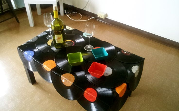 vinyl crafts ideas vinyl record table crafty ideas inspired by or using 3191