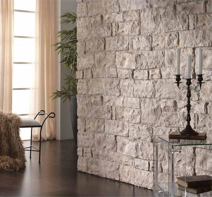 Imare presenta panel piedra un revestimientos de espuma - Piedra pared exterior ...