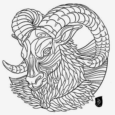 b101dc804 √ Zodiac Coloring Pictures