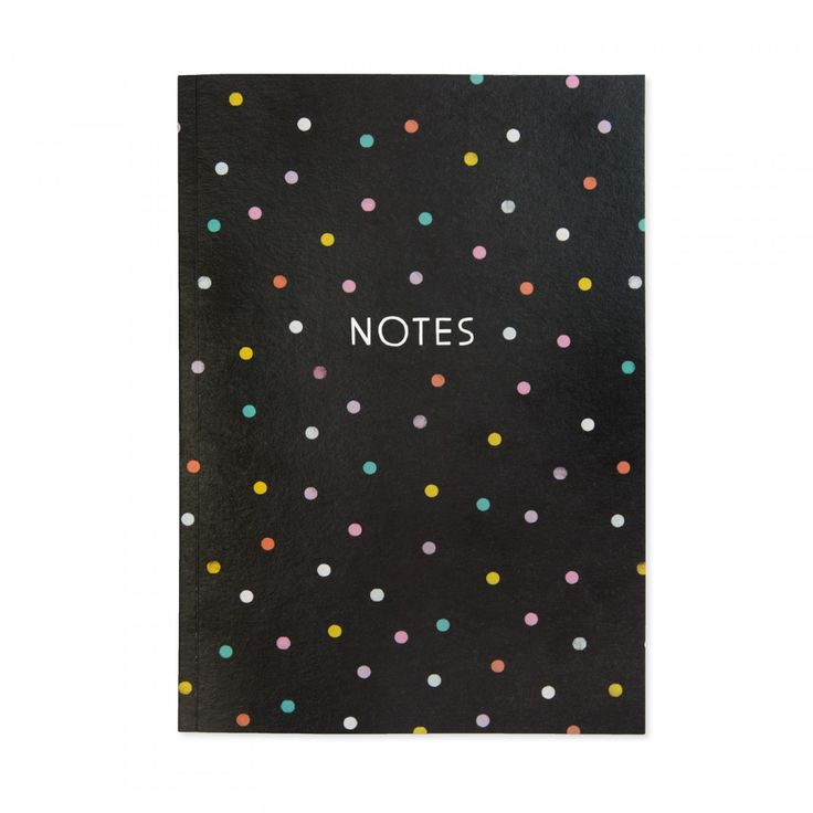 Spotty Dog A5 Perfect Bound Notebook Cover