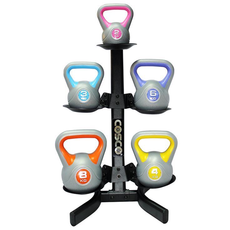 Product Code:  Kettle Bell Rack Brand:  Cosco MRP  3040 3800 | 20% Off Product Details Product Name:Kettle Dumbbell IMPORTED KETTLE BELL Dumbbell Stand for 5 Dumbbells. Material : Plastic
