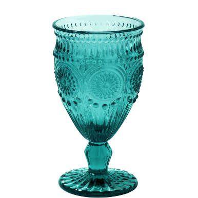 Sie suchen schon länger nach farbigen Gläsern und Schalen mit floralem Dekor