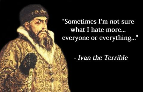 an introduction to the life and history of ivan the terrible A short biography of ivan the terrible after her death the russian nobles, the boyars fought for power and influence leaving ivan with a life long dislike of them.