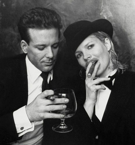 Kim Basinger and Micky Rourke - 9 1/2 Weeks
