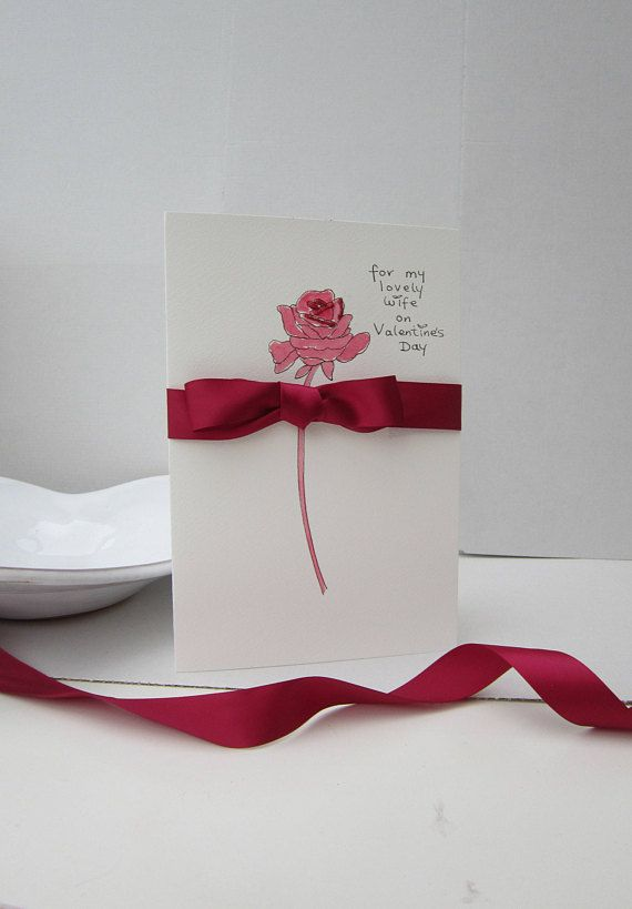 Valentine card husband Valentine card wife Valentine card