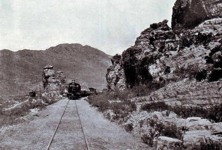 The railway line leading into Stormberg, scene of the Battle of Stormberg on 9th December 1899