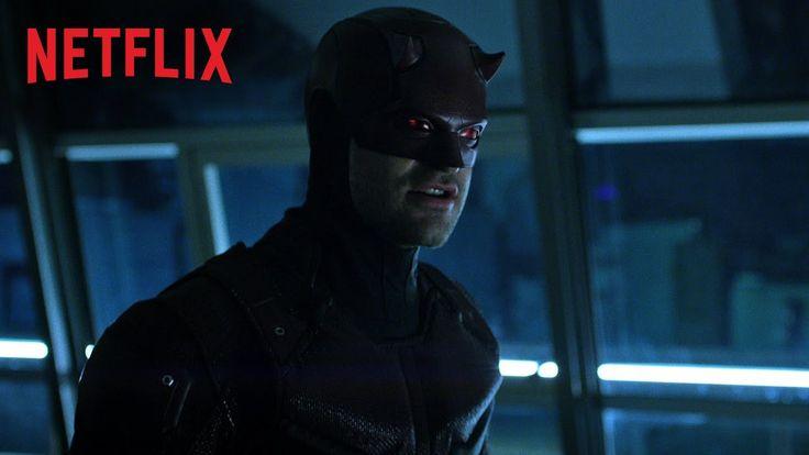Mira el nuevo trailer de la segunda temporada de Daredevil #series #trailer #marvel