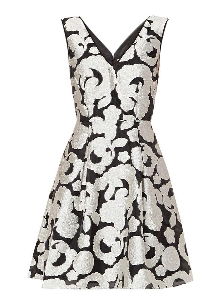 Op zoek naar Reiss Miriah jurk met jacquarddessin ? Ma t/m za voor 22.00 uur besteld, morgen in huis door PostNL.Gratis retourneren.