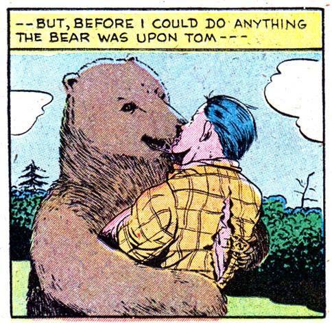 Super popular gay bear comics