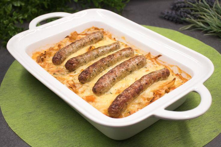 Das Nürnberger Weißkohl-Gratin ist ein leckeres low-carb Hauptgericht. Es ist einfach gemacht und man bekommt alle Zutaten im Supermarkt.