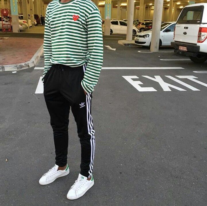 Stripes. CDG & adidas Originals.