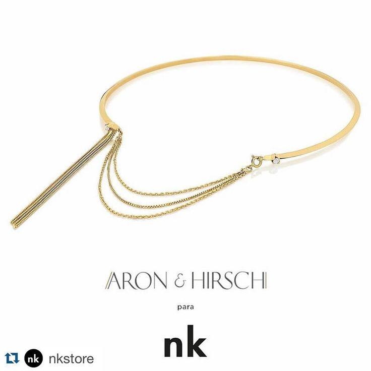 """Coleção Melindrosa na @nkstore   #Repost @nkstore ・・・ nk insider: @aron_hirsch para #nkstore:  nova coleção """"Melindrosa"""", inspirada nas mulheres da década de 1920, com jóiais delicadas em ouro e diamante que remetem o movimentos dos vestidos e leveza da época. Disponível na nk sp #enjoy #style #enjoy"""