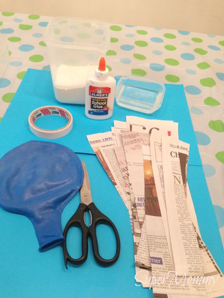 How To Make A Pinata for kids birthday-brings back memories!