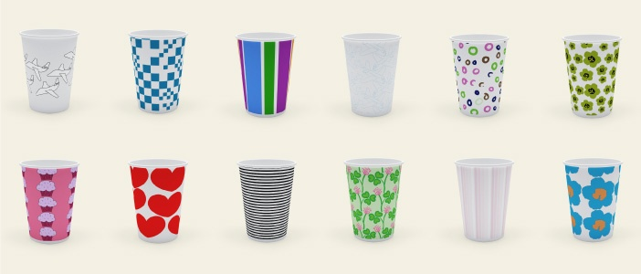Coffee & tea is free on all SAS-flights, but we need better-looking cups. Design our new cups & you can win 100.000 EuroBonus-points