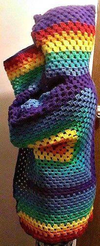 Hexagonal Hooded Cardigan - free crochet any size, any yarn pattern by Celeste Wood.