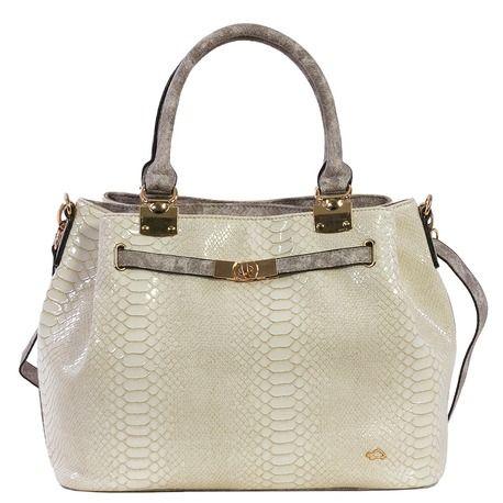 Handbag in python fabric.