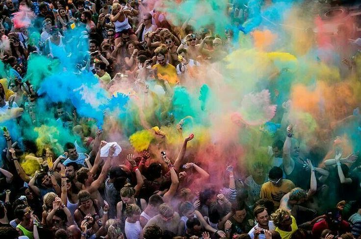 Sziget festival | Winner of the best european major festival award #colorparty at SzigetFestival #sziget #festivals