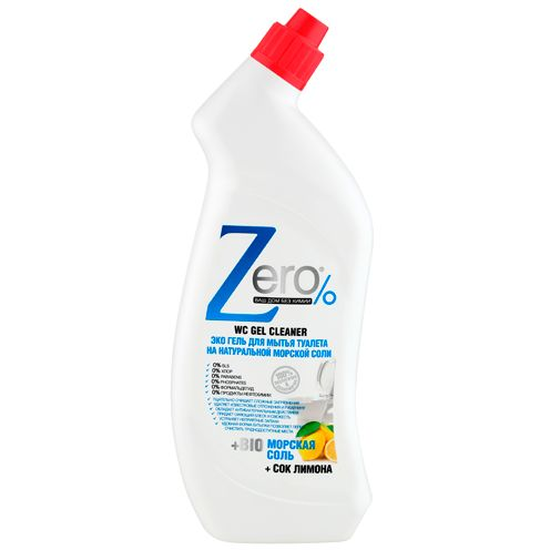 Эко гель для мытья туалета на натуральной морской соли с соком лимона 750 мл - Каталог - RFCosmetics.ru