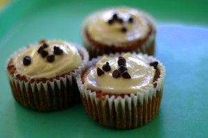 Gluten Free Banana Chocolate Chip Cupcakes - Unconventional Kitchen:: can use ww flour instead of gluten free