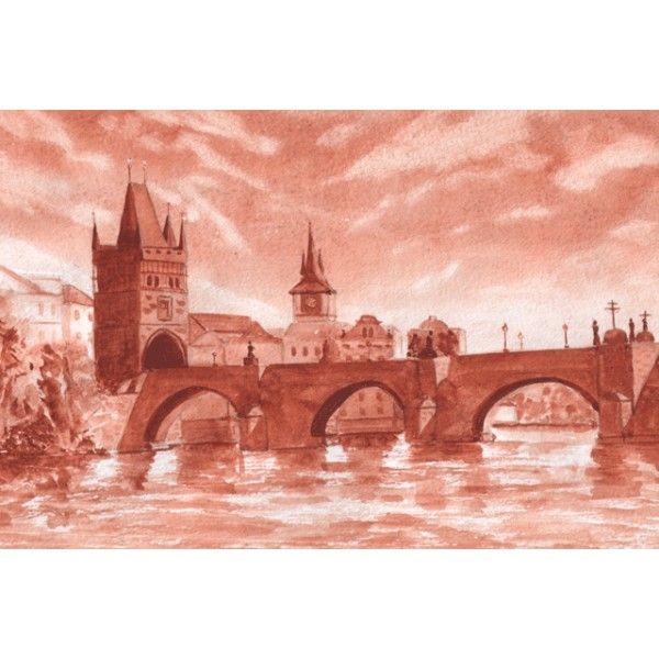 Prague. Karlov bridge, - Postcards, Bridges