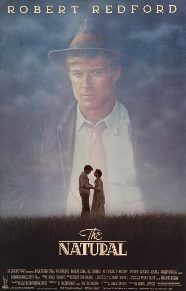Natural 1984 Movies 1984 Movie Baseball Movies Movie Posters