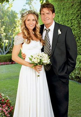 Charlie Sheen and Brooke Mueller...Last Wife, Addictions, Headlines, Court Orders...Two Kids...Divorce...TV Show Disaster...This Marriage Had It ALL!!
