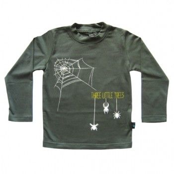 Three Little Trees New York Spider Langarmshirt