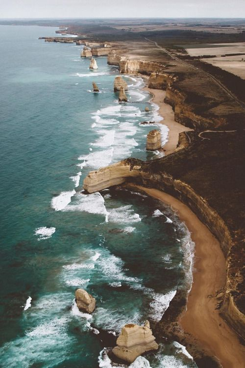 Banshy:  High Above the 12 Apostles