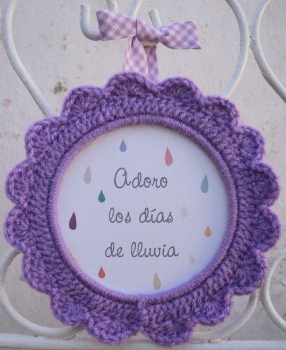 Cuadritos crochet - Adornos - Casa - 12428