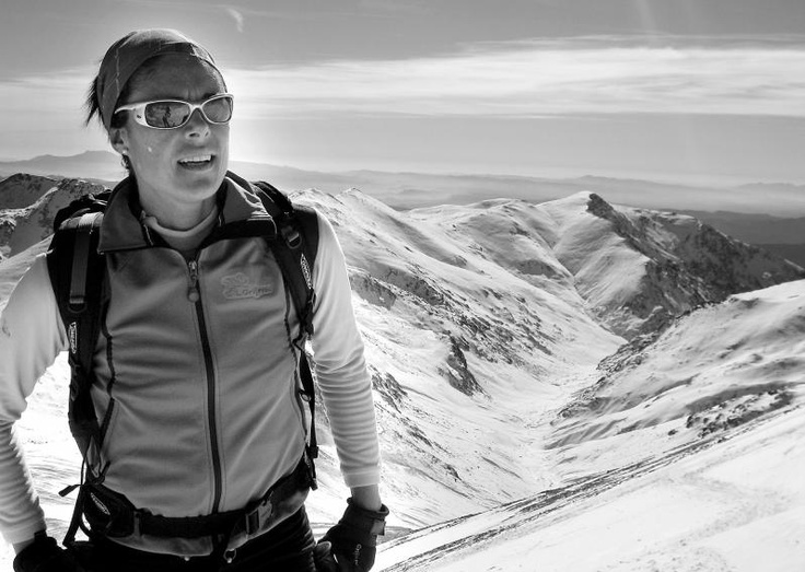 Edurne Pasaban Lizarribar is a Basque mountaineer. On May 17, 2010, she became the 21st person and the first woman to climb all of the fourteen eight-thousander peaks in the World. Her first 8,000 peak had been achieved 9 years earlier, on May 23, 2001, when she climbed to the summit of Mount Everest.