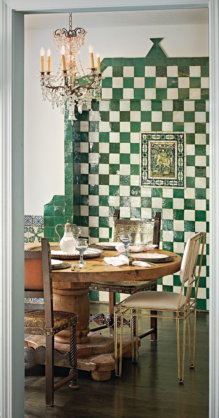 Casa V Interiors, Unexpectedly Exotic | Orange Appeal