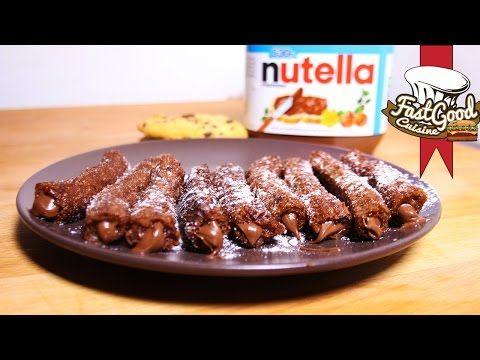 Recette de Fou ! Les churros cookies au Nutella - YouTube