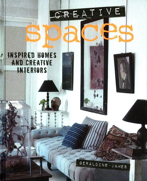 Creative Spaces – Geraldine James – cool homes from London and Milan to New York. Sneak a peek inside at the Temple & Webster blog at http://blog.templeandwebster.com.au/creative-spaces-geraldine-james-summer-reading-giveaway/