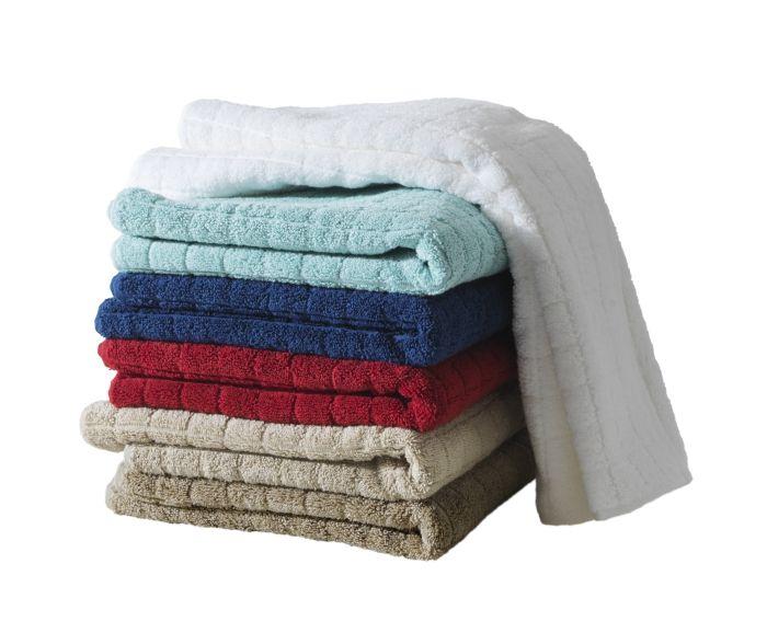 Πετσέτες στο αγαπημένο της χρώμα.