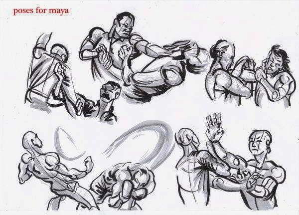 Referencias Dibujo Pelea Como Dibujar Cosas Dibujo De Posturas Libro De Dibujo