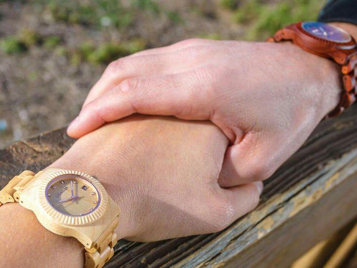 Relojes de Madera ★ Cohnquer. Siente la comodidad de la madera con diseños elegante y versátiles..