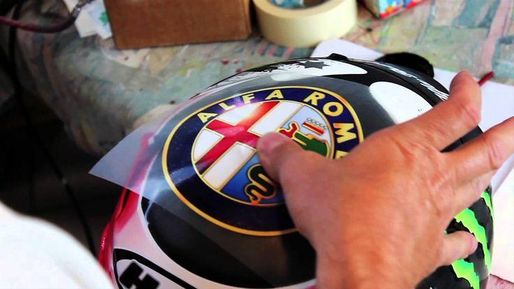 Il casco di Jorge Lorenzo per la gara di MotoGP del Mugello 2014