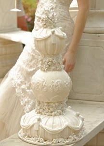 wedding cake - tiffany